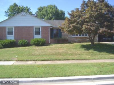 Upper Marlboro Single Family Home For Sale: 12809 Staton Court