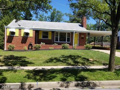 New Carrollton Single Family Home For Sale: 8304 Larchwood Street
