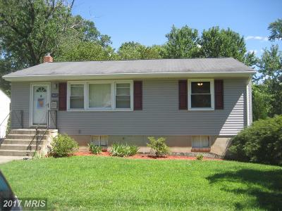 College Park Single Family Home For Sale: 9603 52nd Avenue