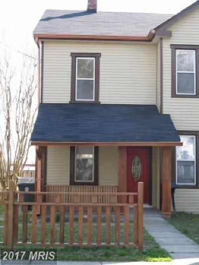 Hyattsville Rental For Rent: 4109 Crittenden Street