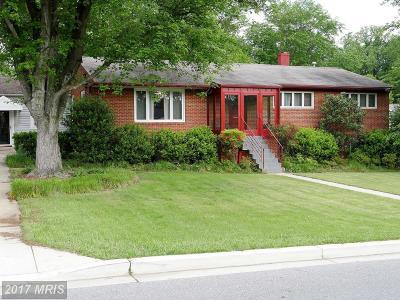 College Park Single Family Home For Sale: 9710 Rhode Island Avenue