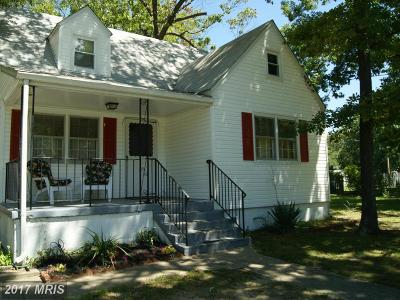 Clinton MD Single Family Home For Sale: $239,900