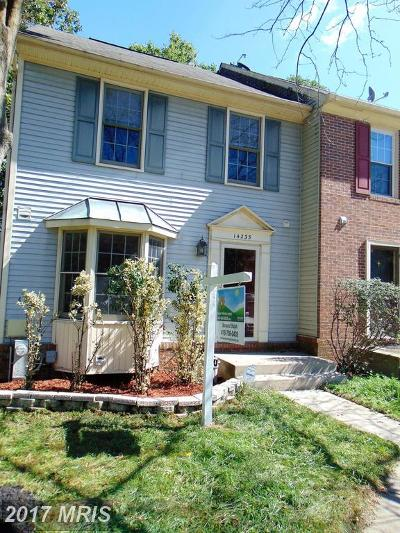 Laurel Townhouse For Sale: 14235 Oakpointe Drive