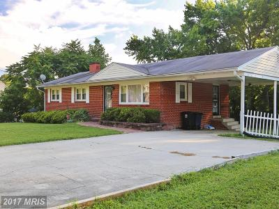 Clinton MD Single Family Home For Sale: $315,000