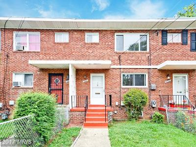 Oxon Hill Townhouse For Sale: 644 Maury Avenue