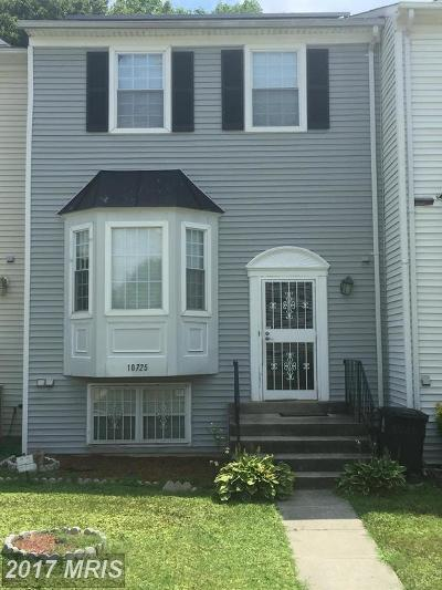 Upper Marlboro Townhouse For Sale: 10725 Campus Way S