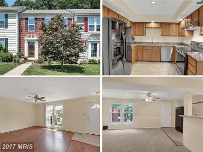 Upper Marlboro Townhouse For Sale: 8513 Paragon Court