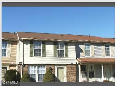 Upper Marlboro Townhouse For Sale: 11304 Kettering Lane