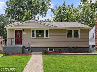 Riverdale Single Family Home For Sale: 4807 Oglethorpe Street
