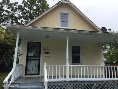 Capitol Heights Single Family Home For Sale: 4410 Torque Street