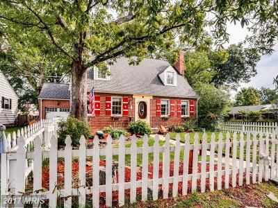 Laurel, Glenn Dale Single Family Home For Sale: 701 Park Avenue