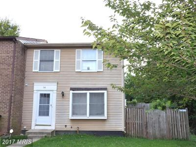 Landover Townhouse For Sale: 712 Green Willow Place