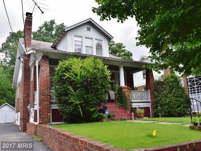 Hyattsville Rental For Rent: 6218 43rd Avenue