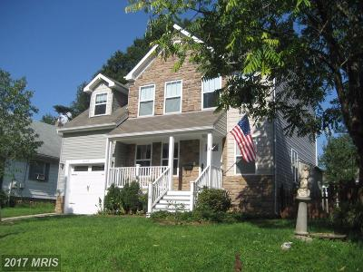Berwyn Heights Single Family Home For Sale: 8503 60th Avenue