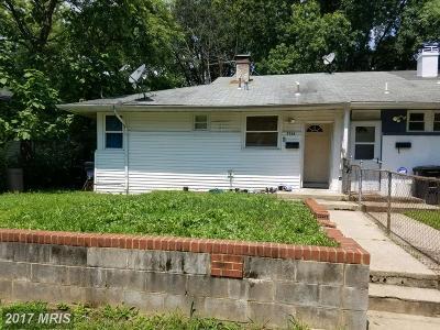 Prince Georges Duplex For Sale: 7746 Muncy Road
