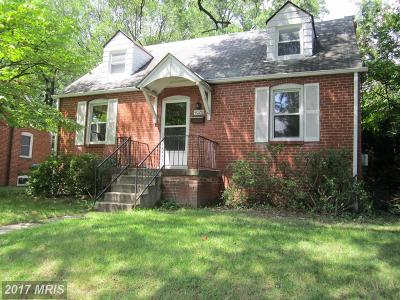 College Park Single Family Home For Sale: 9028 49th Place