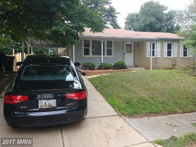 Beltsville Single Family Home For Sale: 11704 Caverly Avenue S