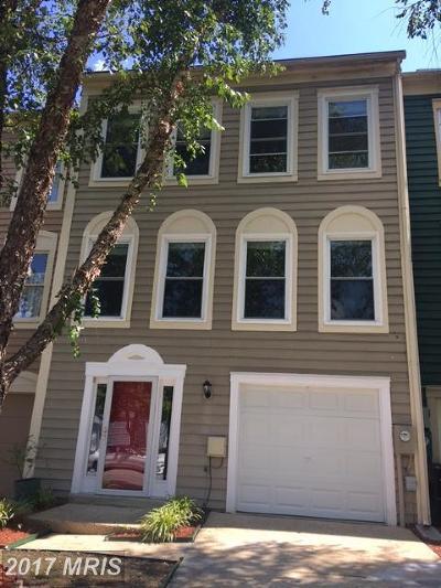 Laurel Townhouse For Sale: 14517 Mayfair Drive