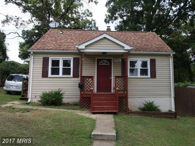 Hyattsville Single Family Home For Sale: 7712 Frederick Road