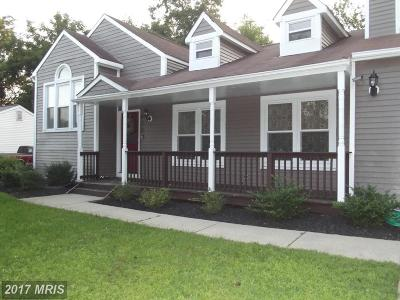 Upper Marlboro Single Family Home For Sale: 823 New Orchard Place