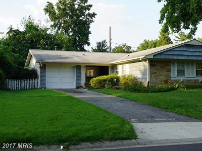 Bowie Single Family Home For Sale: 12312 Rambling Lane