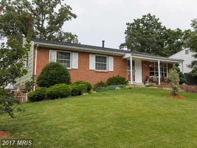 Beltsville Single Family Home For Sale: 13108 Wellford Drive