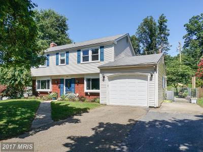Bowie MD Single Family Home For Sale: $360,000