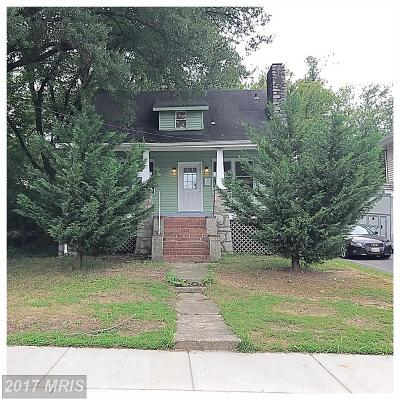 College Park Rental For Rent: 4711 Berwyn Road