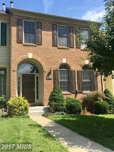 Bowie Townhouse For Sale: 8026 Quill Point Drive
