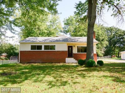 Brandywine Single Family Home For Sale: 11705 Redwood Drive E