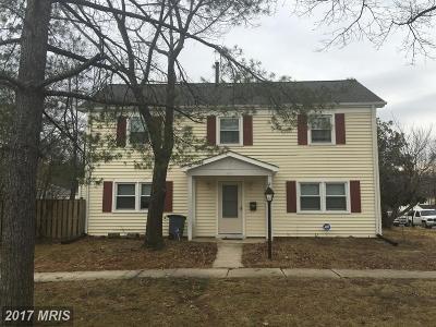 Laurel Townhouse For Sale: 9901 Mallard Drive