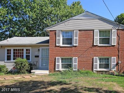 Oxon Hill Single Family Home For Sale: 7549 Abbington Drive