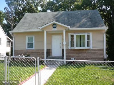 Hyattsville Single Family Home For Sale: 4607 68th Place