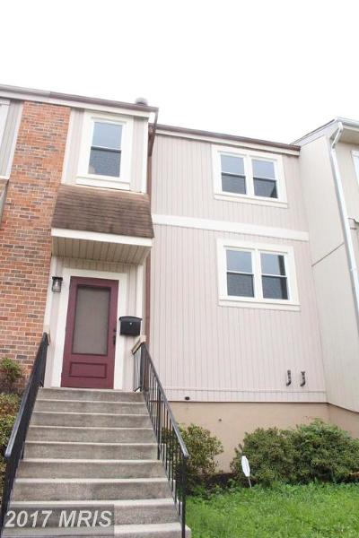 Fort Washington Townhouse For Sale: 6426 Whitwell Court
