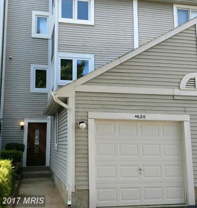 Oxon Hill Condo For Sale: 4620 Winterberry Lane