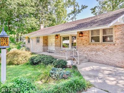 Glenn Dale Single Family Home For Sale: 10017 Worrell Avenue