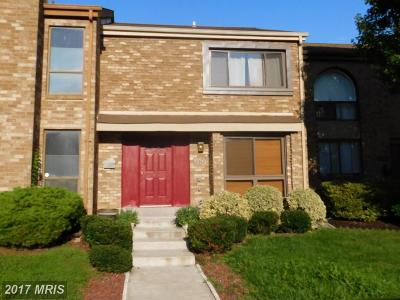 Greenbelt Townhouse For Sale: 8262 Canning Terrace