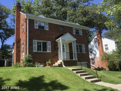 Cheverly Single Family Home For Sale: 5812 Carlyle Street