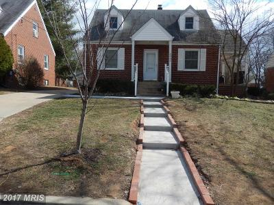 Hyattsville Rental For Rent: 5905 33rd Avenue