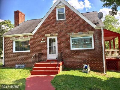 Capitol Heights Single Family Home For Sale: 1806 Nova Avenue