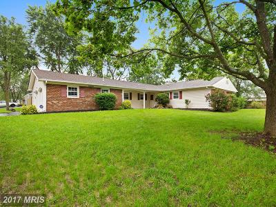 Bowie Single Family Home For Sale: 12600 Clearfield Drive