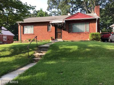 Upper Marlboro Single Family Home For Sale: 9105 Taylor Street