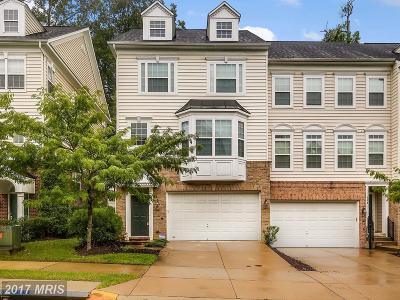 Landover Townhouse For Sale: 516 Tailgate Terrace