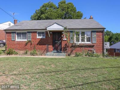 Hyattsville Single Family Home For Sale: 2112 Van Buren Street