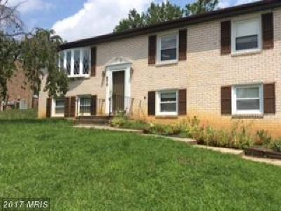 Fort Washington Single Family Home For Sale: 9012 Palmer Street
