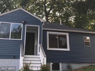 Capitol Heights Single Family Home For Sale: 506 70th Place
