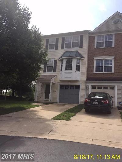 Upper Marlboro Townhouse For Sale: 4419 Lieutenant Lansdale Place