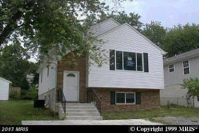 Capitol Heights Single Family Home For Sale: 718 Opus Avenue