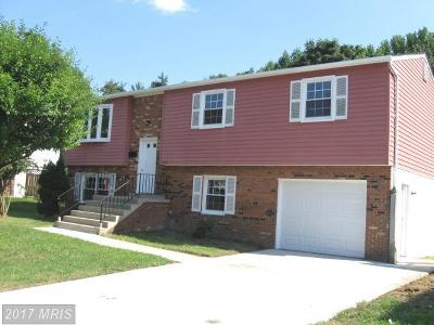 Capitol Heights Single Family Home For Sale: 7103 Quarry Court