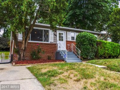 District Heights Single Family Home For Sale: 1313 Eastwood Drive